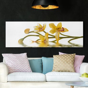 Stampa su tela - Saffron Orchid Waters - Panoramico