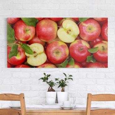 Stampa su tela - Juicy Apples - Orizzontale 2:1