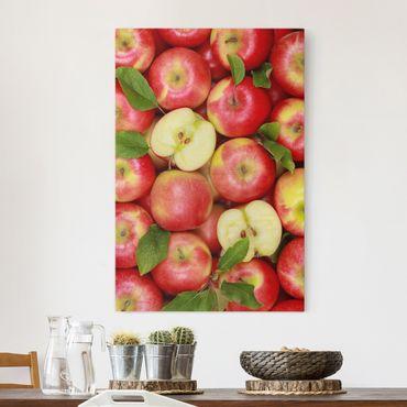 Stampa su tela Juicy apples - Verticale 2:3