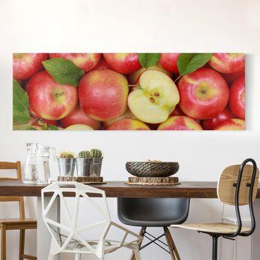 Stampa su tela - Juicy Apples - Panoramico