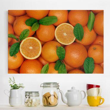 Stampa su tela - Juicy oranges - Orizzontale 3:2