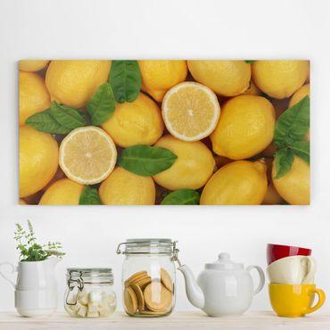Stampa su tela - Juicy Lemons - Orizzontale 2:1