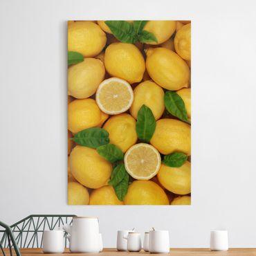 Stampa su tela Juicy lemons - Verticale 2:3