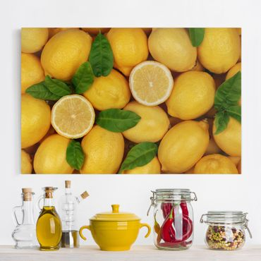Stampa su tela - Juicy lemons - Orizzontale 3:2