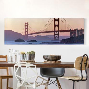 Stampa su tela - San Francisco Romance - Panoramico
