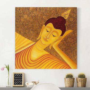 Stampa su tela - Shanghai Buddha - Quadrato 1:1