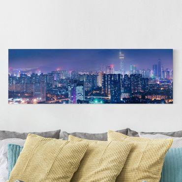 Stampa su tela - Shenzen In China - Panoramico