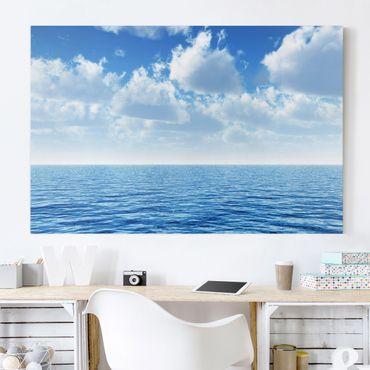 Stampa su tela - Shining Ocean - Orizzontale 3:2