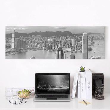 Stampa su tela - Skyline Nostalgia - Panoramico