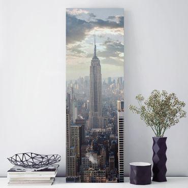 Stampa su tela - Sunrise In New York - Pannello