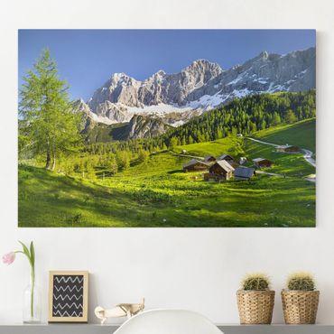 Stampa su tela - Styria alpine meadow - Orizzontale 3:2