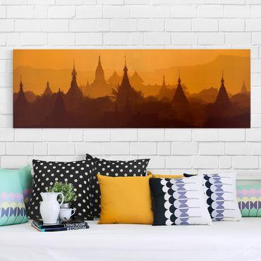 Stampa su tela - Temple City In Myanmar - Panoramico
