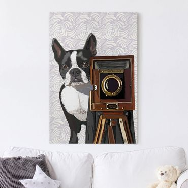 Stampa su tela - Wildlife Photographer Terrier - Verticale 2:3
