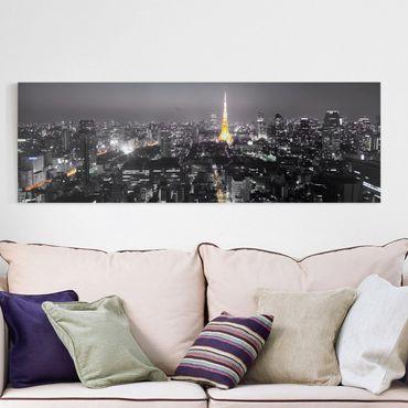 Stampa su tela - Tokyo - Panoramico