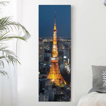 Stampa su tela - Tokyo Tower - Pannello