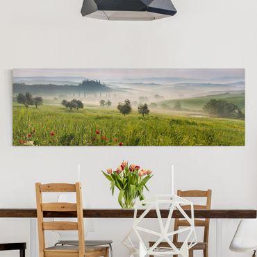 Stampa su tela - Primavera Toscana - Panoramico