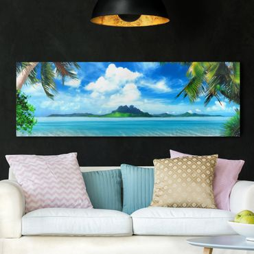 Stampa su tela - Dream Vacation - Panoramico