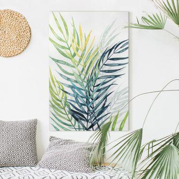 Stampa su tela - Vegetazione Tropicale - Palme - Verticale 2:3