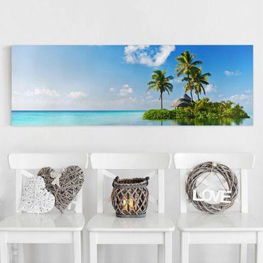 Stampa su tela - Tropical Paradise - Panoramico