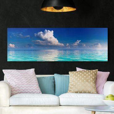 Stampa su tela - Turquoise Lagoon - Panoramico