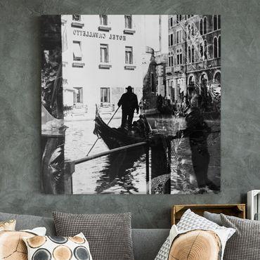 Stampa su tela - Venice Reflections - Quadrato 1:1