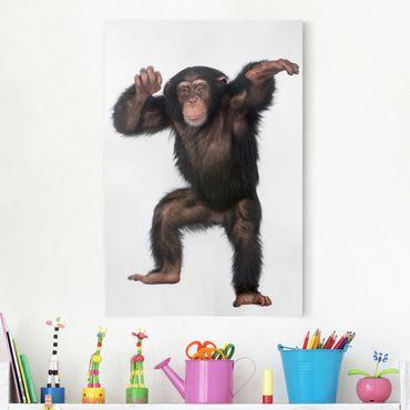 Stampa su tela Cheery Monkey - Verticale 2:3