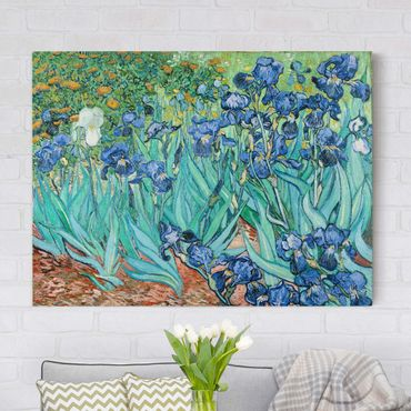 Stampa su tela - Vincent van Gogh - Iris - Orizzontale 4:3