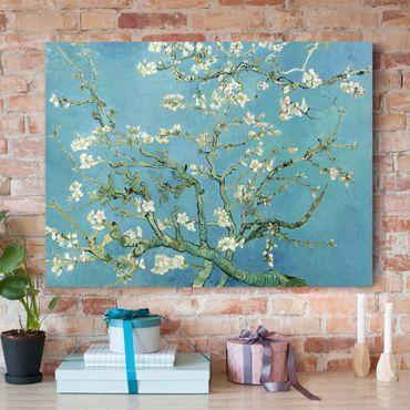 Stampa su tela - Vincent van Gogh - Mandorlo in Fiore - Orizzontale 4:3