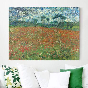 Stampa su tela - Vincent van Gogh - Campo di Papaveri - Orizzontale 4:3