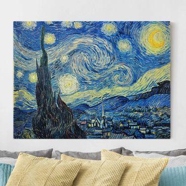 Stampa su tela - Vincent van Gogh - Notte stellata - Orizzontale 4:3