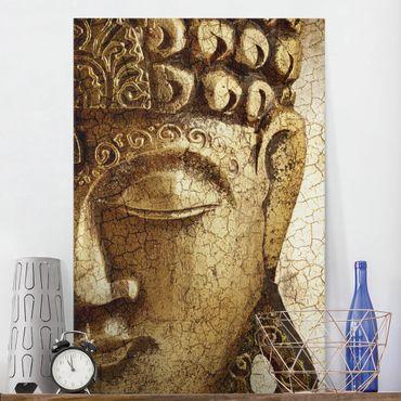 Stampa su tela Vintage Buddha - Verticale 2:3