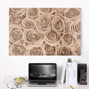 Stampa su tela - Vintage Rose - Orizzontale 3:2