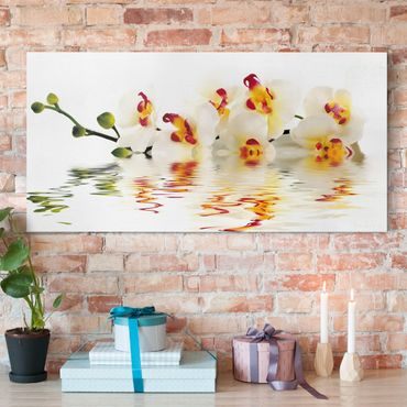Stampa su tela - Vivid Orchid Waters - Orizzontale 2:1
