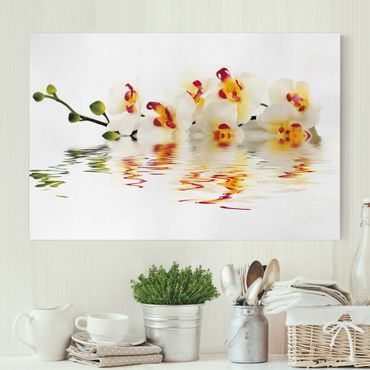 Stampa su tela - Vivid Orchid Waters - Orizzontale 3:2