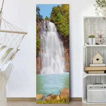 Stampa su tela - Waterfall Romance - Pannello