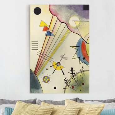 Stampa su tela Wassily Kandinsky - Distinto Connection - Verticale 2:3