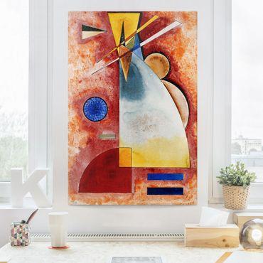 Stampa su tela Wassily Kandinsky - Uno nell'altro - Verticale 2:3