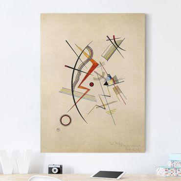 Stampa su tela - Wassily Kandinsky - Dono annuale alla società Kandinsky - Verticale 3:4