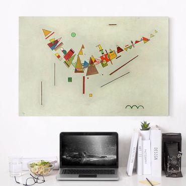 Stampa su tela - Wassily Kandinsky - Angular Swing - Orizzontale 3:2