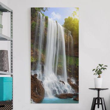 Stampa su tela - Waterfalls - Verticale 1:2