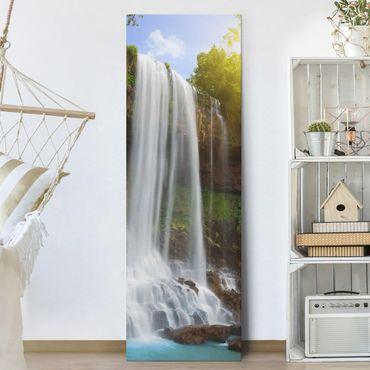 Stampa su tela - Waterfalls - Pannello