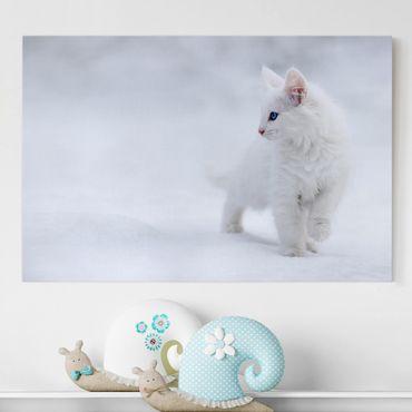 Stampa su tela - Bianco come la Neve - Orizzontale 3:2