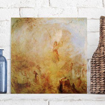 Stampa su tela - William Turner - The Angel, Standing in the Sun - Quadrato 1:1