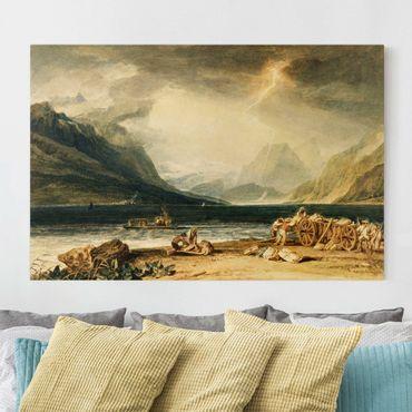 Stampa su tela - William Turner - The Lake of Thun, Switzerland - Orizzontale 3:2