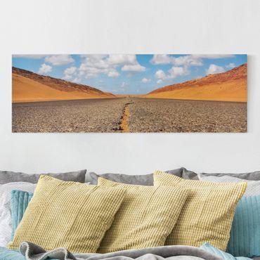 Stampa su tela - Desert Road - Panoramico