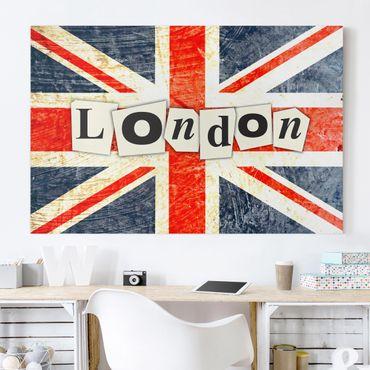 Stampa su tela - Yeah London - Orizzontale 3:2