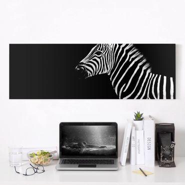 Stampa su tela - Zebra Safari Art - Panoramico