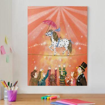 Stampa su tela - Circus Pony Micki - Verticale 3:4