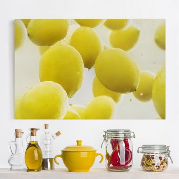 Stampa su tela - Lemon in the water - Orizzontale 3:2