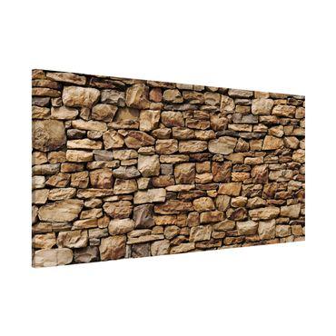 Lavagna magnetica - American Stone Wall - Panorama formato orizzontale